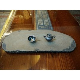 ^(台南寶麗古典傢俱藝品館^)^~^( 石 在 藝 術 ^) 埔里礦石 打造日式茶盤^)^