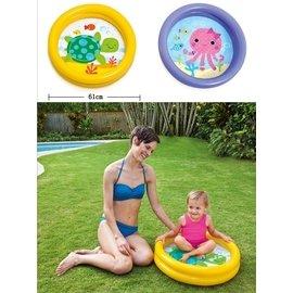 寶寶戲水 CE 正品盈泰intex戲水池 充氣浴盆 水盆 臉盆便攜可折疊 嬰兒游泳池 保暖