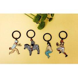 YIZI Store ~ 一只原創 ~  美人魚系列 鑰匙扣 鑰匙圈 ~ 免 免等待