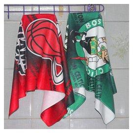 湖人科比熱火6號詹姆斯凱爾特人隊標超纖潔面巾毛巾籃球迷用品