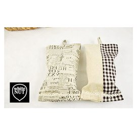 日式風格掛式麻布面紙套 麻布   印花 麻布   拼布 2款