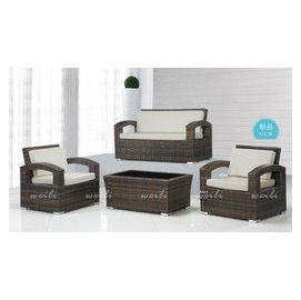6A~新北蘆洲^~偉利傢俱~藤製112沙發組^(含大茶几^)~編號(A156~4)~雙北市