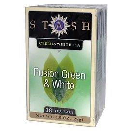Stash Tea Company 融合綠茶    白茶:18 個茶包~ Fusion G