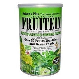 Nature s Plus 水稻、豌豆、大豆高蛋白質沖泡粉 素食非轉基因 50種蔬菜水果: