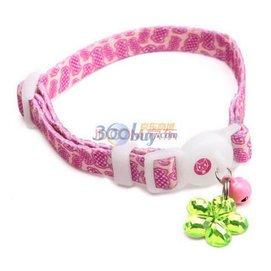 多格漫俏皮貓項圈 寵物貓咪項圈 花紋  糖果89979