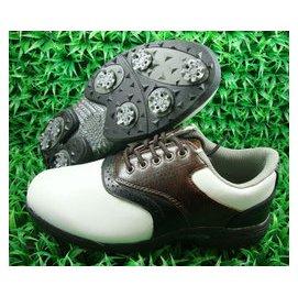 鞋男鞋真皮高爾夫球鞋 高爾夫練習鞋 鞋二層皮鞋