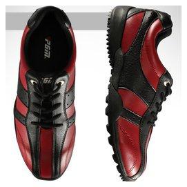 先鋒繫列 高爾夫球鞋 男士高端固定釘 防滑透氣防水 超細纖維皮料