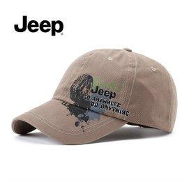 專櫃正品吉普JEEP帽子男女士 棒球帽 遮陽 帽鴨舌帽