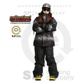 韓國正品SOUTH PLAY單板雙板防風防水滑雪服套裝 保暖衝鋒衣 情侶