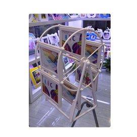 美家樂相框360度旋轉摩天輪ABS塑料高清玻璃兒童婚紗影樓相框