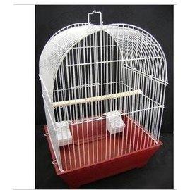 ~攬勝~鳥籠 金屬鳥籠 鸚鵡籠 八哥鷯哥籠帶底盤鳥籠 三種形狀可供選擇
