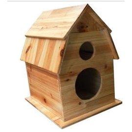 ~攬勝~鳥蝸大量 訂做實木鳥蝸 鳥籠 鳥巢 寵物房鸚鵡屋大中小號鳥屋