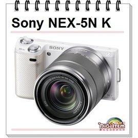 【0利率/送16G+保護鏡】Sony NEX-5N KIT (含18-55mm 公司貨) 翻轉觸控螢幕 數位微型單眼 NEX5NK / NEX-5NK