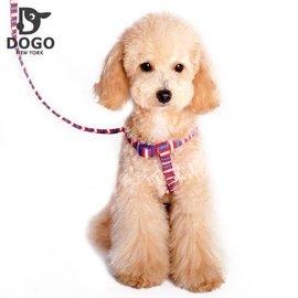 都會狗 麂皮絨牽繩三色外出狗衣服寵物服飾有配套胸背