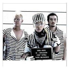 ~兩件~韓國GD權志龍同款bigbang周邊黑白條紋平檐街舞嘻哈棒球帽子男女