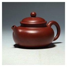 廖武強容天壺 大紅袍 宜興原產地紫砂壺 茶具 制作朱泥壺
