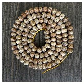 正月星月菩提108顆佛珠手鏈 干磨佛珠手串 貨 通貨  老籽