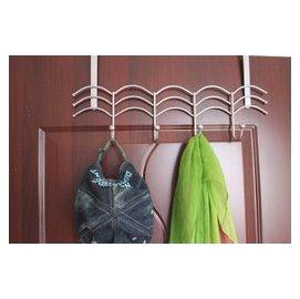 鐵藝門後掛鉤免釘免粘貼掛勾掛衣鉤衣帽掛鉤臥室衛浴掛鉤掛衣架