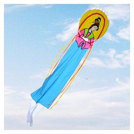 大型軟體風箏 嫦娥奔月風箏12米 仙女風箏無骨架大型風箏包郵