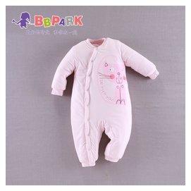 貝貝帕克 嬰兒連體衣秋裝新生兒衣服 純棉男女寶寶哈衣秋睡衣