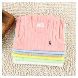 15夏款 韓國 兒童純棉背心 男童女童工字打底衫 寶寶無袖T恤