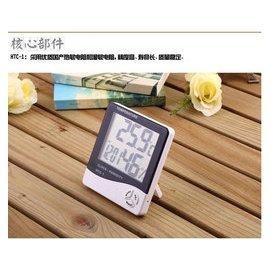 ~~紅舖子~~^( 正品^)~~HTC~1超大字幕溫濕度計 溫度計 溼度計 時鬧鐘~~大字