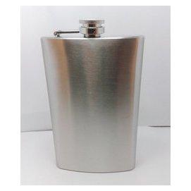 10盎司 不鏽鋼酒壺 男士隨身酒壺 戶外酒壺 俄羅斯外貿原單