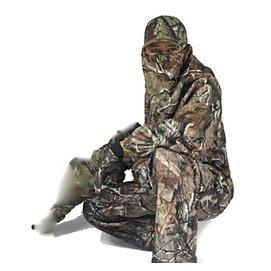 防水戶外仿生迷彩服套裝枯葉狩獵服樹葉迷彩服偽裝服觀鳥服五件套