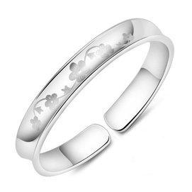 梅花情思手鐲白銅鍍925純銀女夏天 個女士手鐲 送女友送閨蜜