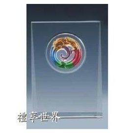 水晶琉璃砂刻獎牌SJL~02S