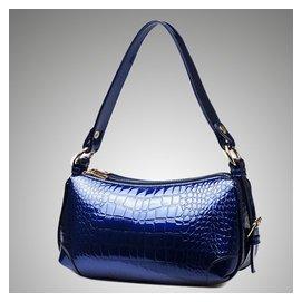 女包2015 小包包 鱷魚紋手提包 簡約斜 女士牛皮包袋