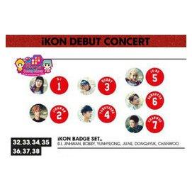 iKON   SHOWTIME徽章組    B.I  ~韓格舖~Debut 首爾演唱會 官