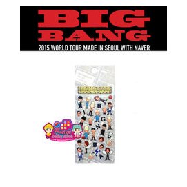 BIGBANG ^~ M 貼紙 ^~ MADE Series ~韓格舖~首爾場 with