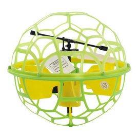 優迪懸浮飛球智能感應飛行無人機 耐摔遙控飛機直升機 兒童玩具懸浮飛碟 935飛球綠色