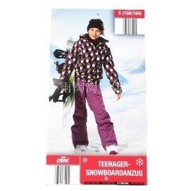 cran^~^~e鶴牌中大男童女孩滑雪服套裝防風防水量大 親子裝