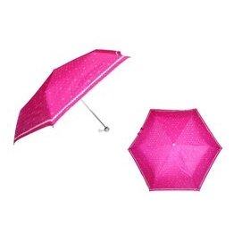 鋼筆傘 愛心圓點輕量超細傘 三折傘.超輕.防風.抗uv~晴雨傘~安安大賣場~