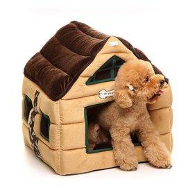 ~KY~?KY寵物?~全國包郵~巧克力寵物房子寵物狗窩泰迪賓棉窩狗墊子沙發墊子貓蝸狗蝸 ?