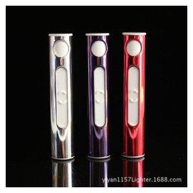 迷你型充電打火機 圓柱香 煙型USB電子點煙器