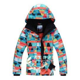 gsou snow正品滑雪服 女套裝加厚滑雪服女 滑雪衣單雙板衝鋒衣女