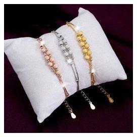 正品925純銀腳鏈 簡約 女生轉運珠腳鏈純銀首飾