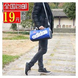 圓筒包 健身 包 短途旅行包男女 可單肩可手提