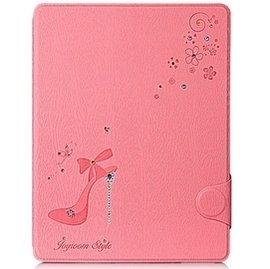 奧地利水鑽款 iPad 2 3 4 保護皮套 iPad 4水鑽保護套 水晶鞋鑽式皮套