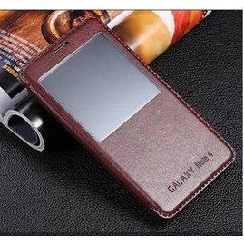 中華 遠傳專案辦了沒^^^^三星Samsung Galaxy note4手機套 智能not