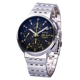 ~猴年馬月~MIDO 美度錶 All Dial 機械計時男用腕錶 M83604B81