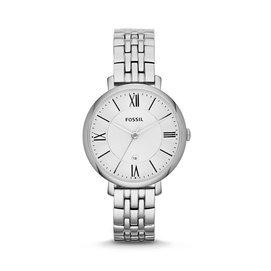 ~秋葉小舖~美國 正品 Fossil ES3433 銀色 不鏽鋼表帶 大表盤 女式手表