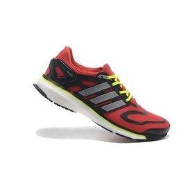 Adidas Energy Boost 愛迪達 爆米花 輕量舒適 休閒 慢跑鞋 男鞋 紅黑