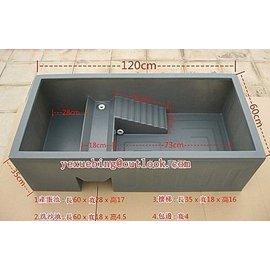 品  水龜飼養繁殖箱 烏龜缸 水龜苗箱飼養盒 寵物龜窩烏龜 缸