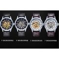 手表男表瑞士全自動鏤空機械表精鋼帶防水夜光 學生 皮帶表