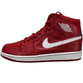 NIKE 正品 正品AIR Jordan 1 喬丹1代 AJ1全紅款公牛元籃球鞋男鞋555