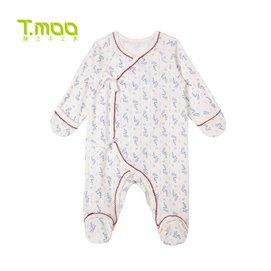 籐之木工房嬰兒內衣連體服全棉寶寶純棉睡衣男童女童新生兒衣服